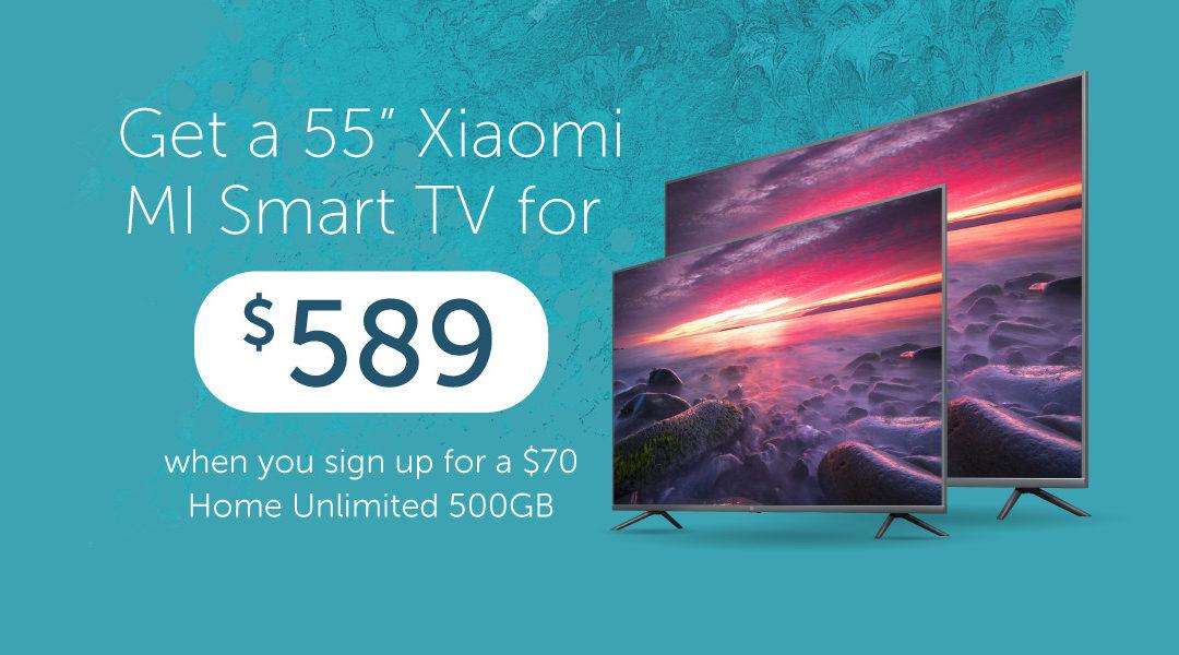 Xiaomi MI TV Bundling Promotion