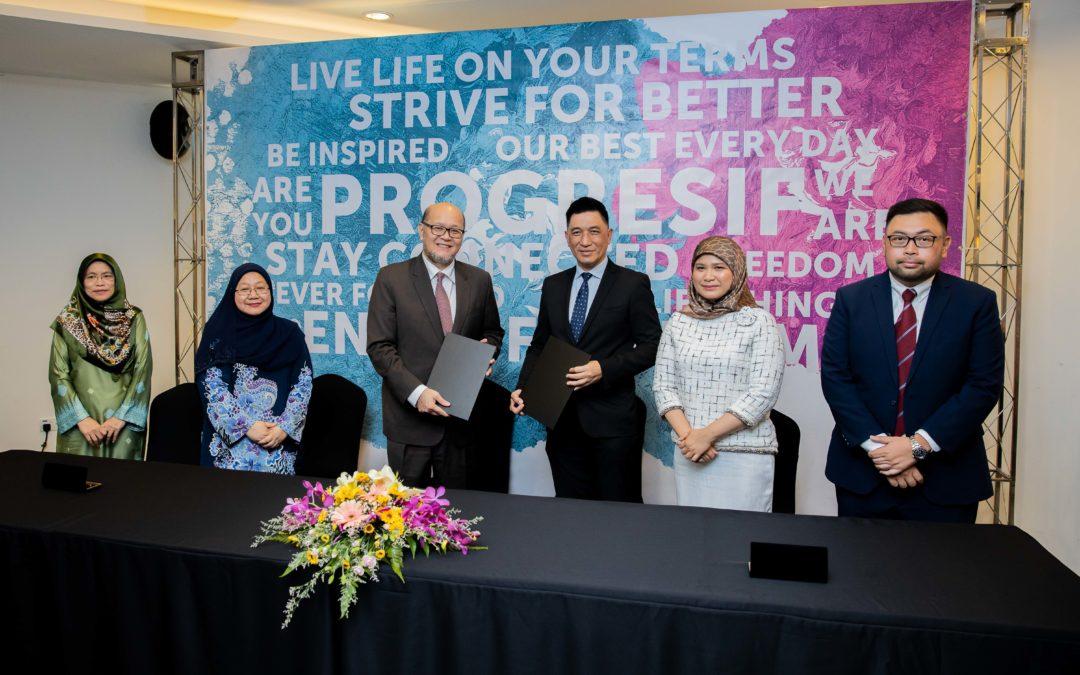 Progresif, MOE Partner To Bring Progress For Education