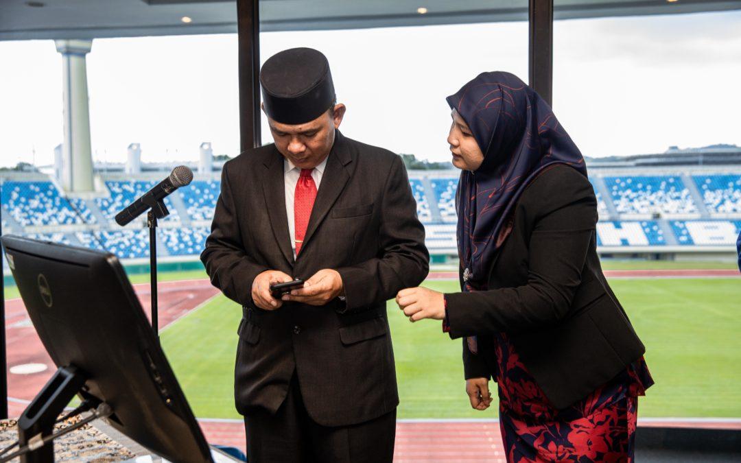 Majlis Pelancaran SMS Brunei Prihatin Tabung Anak Yatim